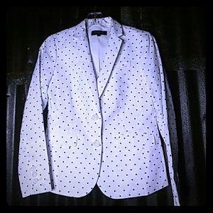 Talbots Polka-dot Jacket